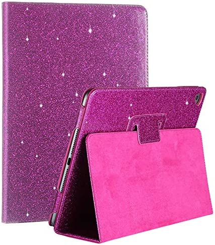 iPad Air 2 Glitter Case iPad 6th Gen 2018 5th Gen 2017 Cover FANSONG Bling Sparkle PU Leather product image
