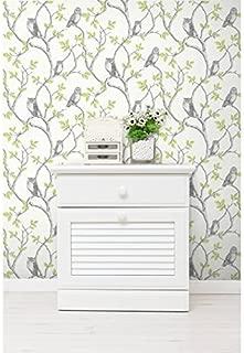 fine decor woodland owls wallpaper