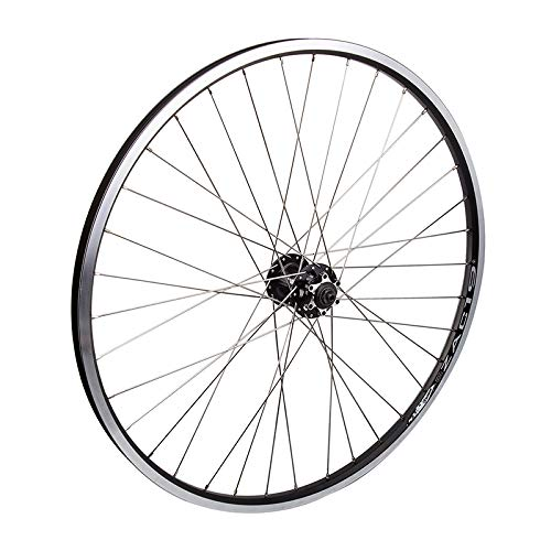 Wheel Master Weinmann Front Wheel - 26' x 1.5', 36H, Quick Release, Black with Silver Spokes