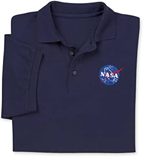 ComputerGear NASA T Shirt Polo Golf Space Science Geek Officially Licensed