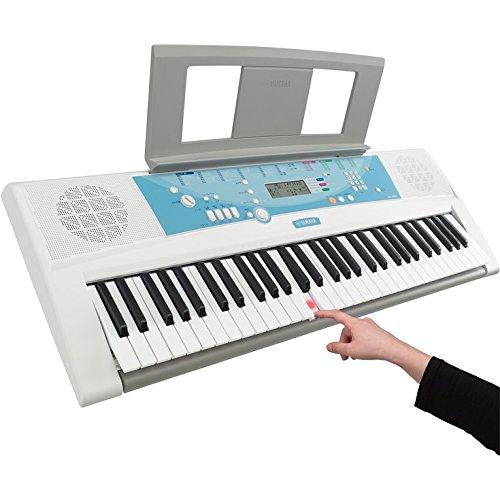 ヤマハYAMAHA電子キーボードPORTATONEポータトーンEZ-J22061鍵盤初心者でも安心なガイド機能を搭載レッスン曲100曲内蔵