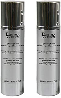 x2 Lightening SERUM With Ginseng And Hyaluronic Acid – DermaCeutical