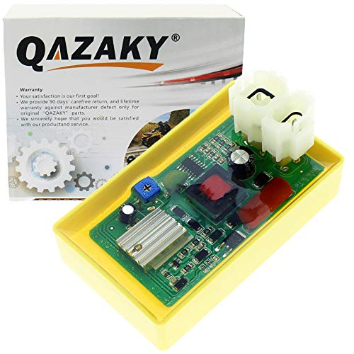 QAZAKY einstellbare high performance racing 6 pin dc cdi box gy6 50cc - 90cc 110cc 125cc scooter atv go kart moped quad dune buggy pit dirt bike kymco agility menschen sento 50 125 150