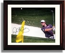 Framed Rory McIlroy Autograph Replica Print
