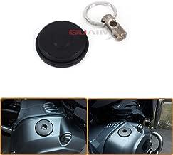 KYN for BMW R1200GS 2004-2012 R1200 GS LC 2013-2019 R1200R 2006-2014 R1200 R LC 2015-2019 Motorcycle Engine Oil Filter Filler Cap Tank Covers (Black)