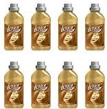 8 x Ammorbidente concentrato Lenor Oro e Fiori di vaniglia per bucato lavatrice