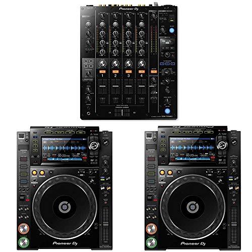 New Pioneer DJM-750MK2 DJ Mixer w/ CDJ-2000NXS2 Multi Players (2)