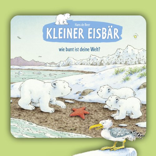 Kleiner Eisbär, wie bunt ist deine Welt? Titelbild