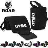 Roar® Muñequeras Deportivas, Muñequeras Crossfit Hombre y Mujer, Muñequeras Gym...