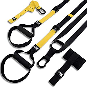TRX ALL-IN-ONE Suspension Training: Bodyweight Resistance System | Full Body Workouts for Home, Travel, and Outdoors | Build Muscle, Burn Fat, Improve Cardio | Free Workouts Included from TRX