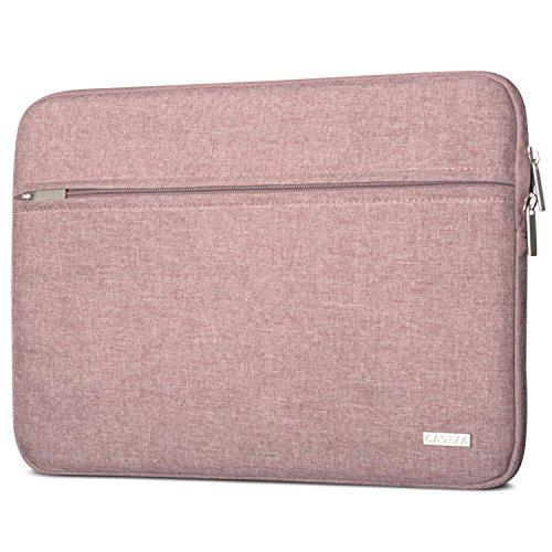 CASEZA Laptophülle 14 Zoll Rot Melange - Laptoptasche Milan Laptop Sleeve Schutzhülle für 14 Zoll Laptops, das MacBook Pro 16 und das Dell XPS 15 - Hülle Notebook Tasche aus recycelten PET Flaschen
