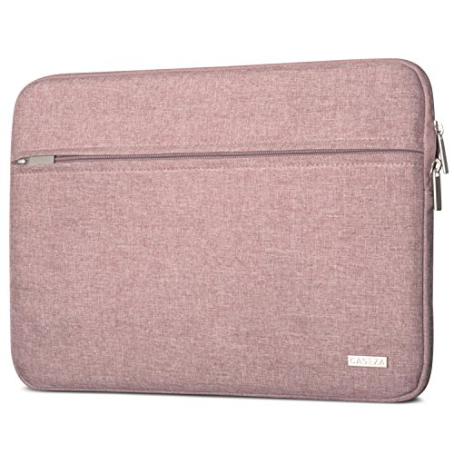 CASEZA MacBook Pro 13 Hülle/MacBook Air (2018) Tasche Rot Melange Milan Laptop Sleeve aus recycelten PET-Flaschen Laptophülle für MacBook Air (2018) MacBook Pro 13 Dell XPS 13 und 11-12 Zoll Notebooks