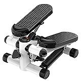 JJHOME Tragbare Stepper Multifunktionale Fitness Stepper Fitness Schritt Jogging Griffige...