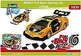 ドイツレベル 1/20 ジュニアキットシリーズ プルバック レーシングカー オレンジ 色分け済みプラモデル 00832