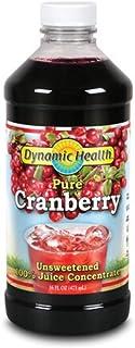 Dynamic Health 473ml 100% puro jugo de arándano concentrado