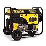 Champion Power Equipment 100812 6250/5000-Watt Portable Generator with Wheel Kit