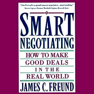 Smart Negotiating audiobook cover art