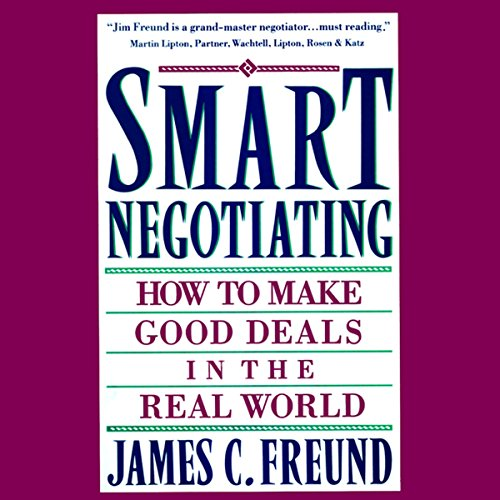 Smart Negotiating audiobook cover art