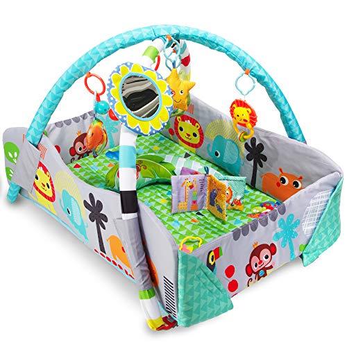 Palestrina Neonati One Sensoriale età 0/24 mesi, Usabile come Fasciatoio, Trasportabile, Tappetino e Giochi Imbottiti e Lavabili per la Sicurezza dei Bambini, standard EN71 Europeo