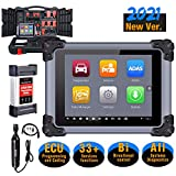 Autel MaxiSys MS908S Pro Automotive Diagnostic Scan Tool, 2021 Proven Solution on MK908P, with J2534 ECU Programming & MV108, Bi-Directional Control, 31+ Service Functions, OE-Level Full Diagnosis