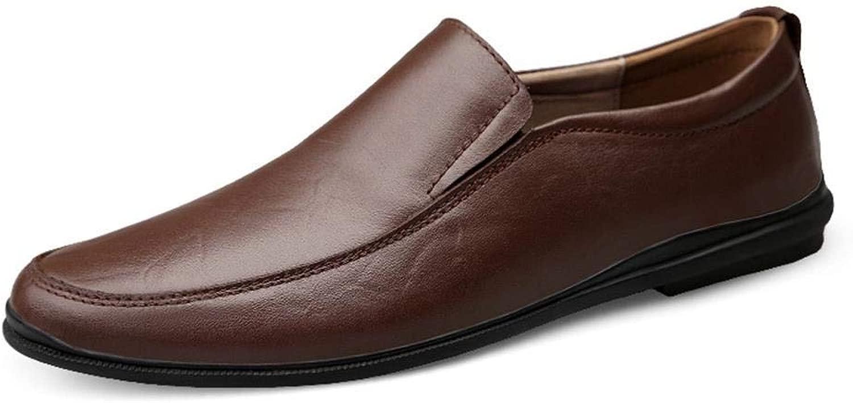EGS-schuhe EGS-schuhe Herren Lederschuhe Business Kleid Schuhe atmungsaktiv,Grille Schuhe (Farbe   Braun, Größe   41)  unglaubliche Rabatte