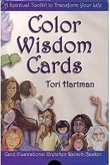 Color Wisdom Cards by Tori Hartman (2009-10-06) Hardcover