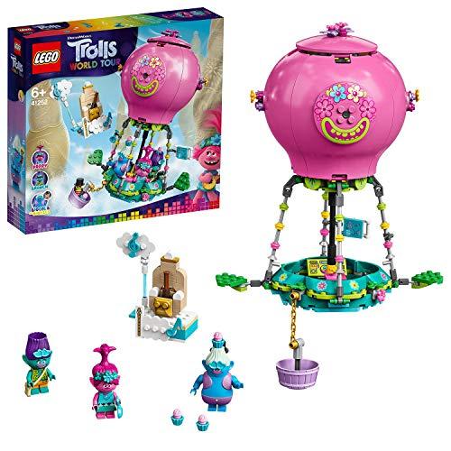 LEGO 41252 Trolls World Tour Poppys Heißluftballon Abenteuer Spielset mit Poppy, Branch, Biggie und Mr Dinkles