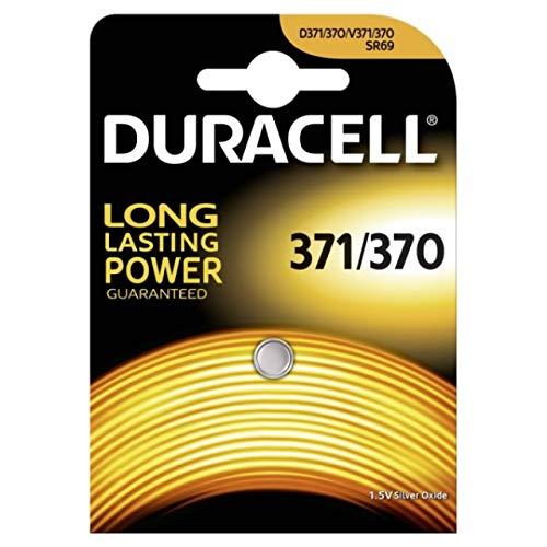 Duracell 936847 oxyde d'argent 1.5 V Batterie Rechargeable Pas – Pas Piles Rechargeables (oxyde d'argent, Bouton/pièce, 1,5 V, SR69, Blister)