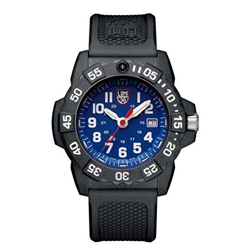 Luminox Herren Datum klassisch Quarz Uhr mit PU Armband XS.3503
