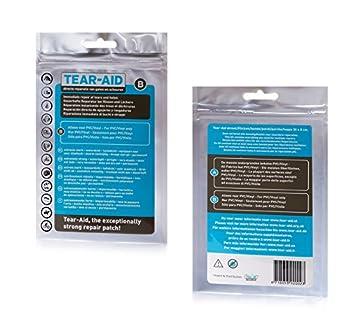Tear-Aid - Outil de réparation - Type B - Transparent - Paquet complet