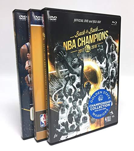 NBA Golden State Warriors Triple Championship DVD/BD Combo Pack