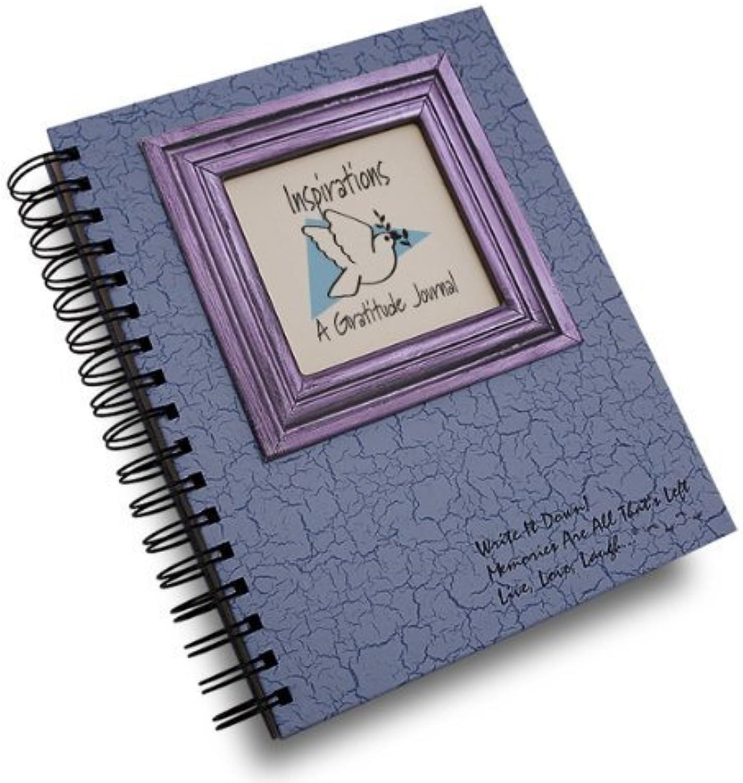 Inspirations, Inspirations, Inspirations, A Gratitude Journal-schwierigen Vorkommnissen eine rasche Journal Notebook, Spiral Bound Hard Cover and Eco-Friendly 9  x 7.5  by Journals Unlimited English (Manual) B00N6G1AMW | Helle Farben  b579d1