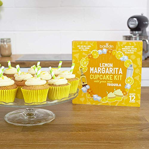 BakedIn Margarita - Kit di cottura per cupcake, confezione da 1