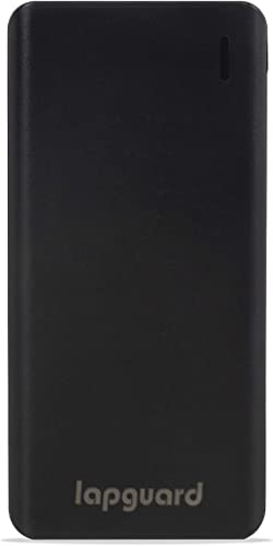 Lapguard 10000 mAh Lithium Polymer Power Bank LG514 Black