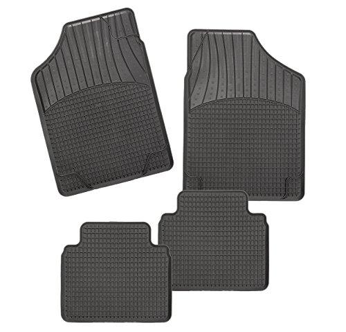 CarFashion Allwetter Schalenmatte B2, Auto Fussmatten Set in schwarz, 4-teilig, ohne Mattenhalter für  ix20  , Baujahr 11/2010-00/0000