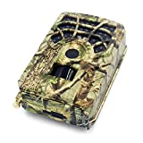 Doneioe 5MP 480P Trail and Game Camera Motion Activated Hunting Camera Outdoor Wildlife Scouting Camera 46 LEDs Night Vision IP56 Waterproof