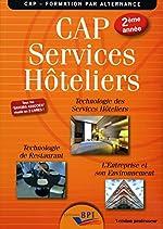 CAP services hôteliers 2ème année - Version professeur de Jean-François Augez-Sartral