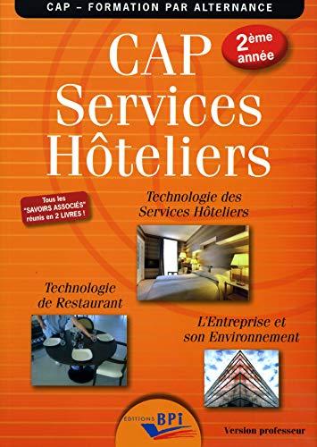 CAP services hôteliers 2ème année