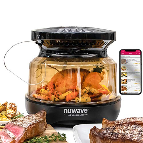 NUWAVE PRIMO Grill Oven with Integrated Digital Temp Probe for