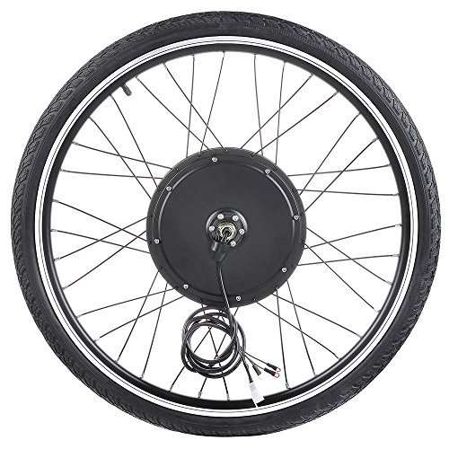 ReaseJoy 36V 500W 26' Front Wheel Electric Bicycle Motor Conversion Kit E-Bike Cycling Hub