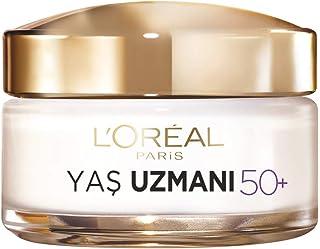 L'Oréal Paris Yaş Uzmanı 50+ Kırışıklık Karşıtı Yenileyici Krem, 50 ml