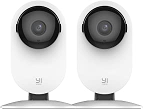 YI 2pc Smart Home Camera, 1080p WiFi IP Indoor Security...