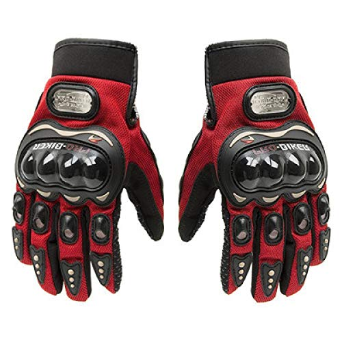 Generic Motorradhandschuhe Motorrad Handschuhe Sommer Winter Full Finger Motocross Leder Motorrad Handschuhe L Probiker Marken