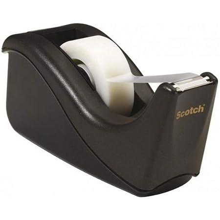 Scotch Devidoir C60 Noir avec 1 ruban Magic 19mm x 33M