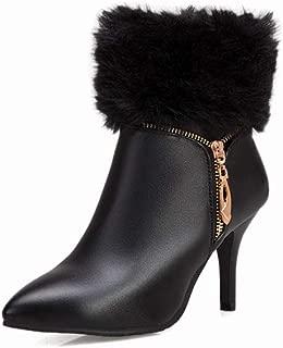 BalaMasa Womens ABS14033 Pu Boots