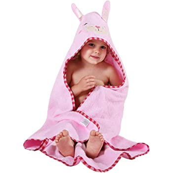 rosa Golden Rule Toallas de beb/é de alta calidad con capucha para ni/ñas Toallas de bamb/ú s/úper absorbentes ultra suaves para reci/én nacidos y ni/ños