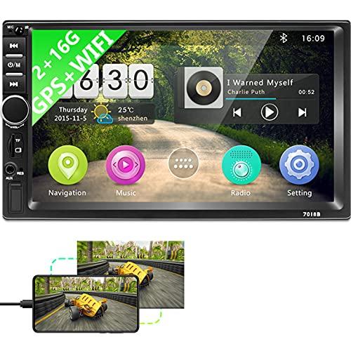 Autoradio Android doppio Din, autoradio Bluetooth 2G+16G con...