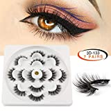 MAANGE Fake Eyelashes 3D Handmade False Eyelashes Thick Crisscross...