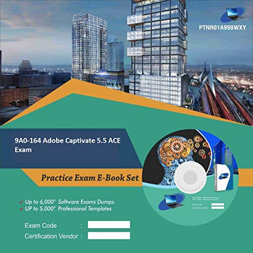 9A0-164 Adobe Captivate 5.5 ACE Exam Complete Video Learning Certification Exam Set (DVD)