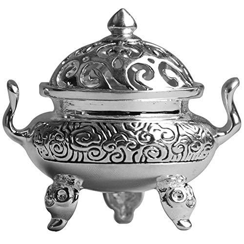 Urns Cremation Urn voor as Aromatherapie kachel zilver mini wierook brander handgemaakte vintage sieraden parfum outlet familie Boeddha standbeeld zilveren wierook brander LASYSTE